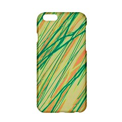 Green and orange pattern Apple iPhone 6/6S Hardshell Case