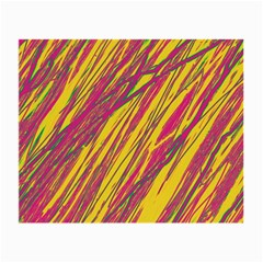 Orange pattern Small Glasses Cloth (2-Side)