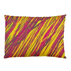 Orange pattern Pillow Case (Two Sides)