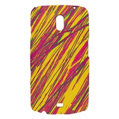 Orange pattern Samsung Galaxy Nexus i9250 Hardshell Case