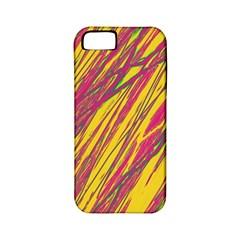Orange pattern Apple iPhone 5 Classic Hardshell Case (PC+Silicone)