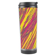 Orange pattern Travel Tumbler