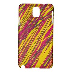 Orange pattern Samsung Galaxy Note 3 N9005 Hardshell Case