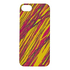 Orange pattern Apple iPhone 5S/ SE Hardshell Case