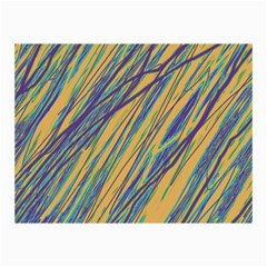 Blue and yellow Van Gogh pattern Collage Prints