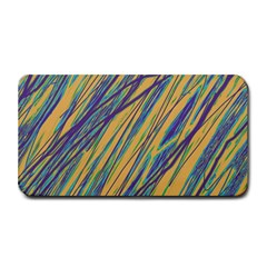 Blue and yellow Van Gogh pattern Medium Bar Mats