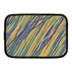 Blue and yellow Van Gogh pattern Netbook Case (Medium)