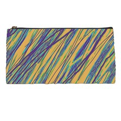 Blue and yellow Van Gogh pattern Pencil Cases