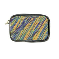 Blue And Yellow Van Gogh Pattern Coin Purse