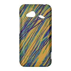 Blue and yellow Van Gogh pattern HTC Droid Incredible 4G LTE Hardshell Case