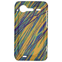 Blue and yellow Van Gogh pattern HTC Incredible S Hardshell Case