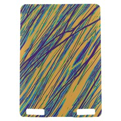 Blue and yellow Van Gogh pattern Kindle Touch 3G