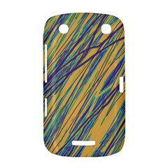 Blue and yellow Van Gogh pattern BlackBerry Curve 9380