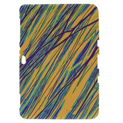 Blue and yellow Van Gogh pattern Samsung Galaxy Tab 8.9  P7300 Hardshell Case