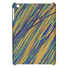 Blue and yellow Van Gogh pattern Apple iPad Mini Hardshell Case