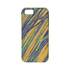 Blue and yellow Van Gogh pattern Apple iPhone 5 Classic Hardshell Case (PC+Silicone)