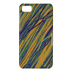 Blue and yellow Van Gogh pattern BlackBerry Z10