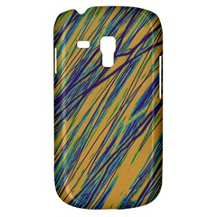 Blue and yellow Van Gogh pattern Samsung Galaxy S3 MINI I8190 Hardshell Case