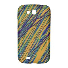 Blue and yellow Van Gogh pattern Samsung Galaxy Grand GT-I9128 Hardshell Case