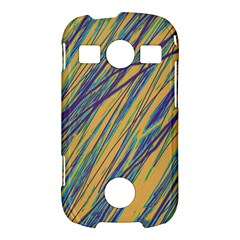 Blue and yellow Van Gogh pattern Samsung Galaxy S7710 Xcover 2 Hardshell Case