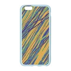 Blue and yellow Van Gogh pattern Apple Seamless iPhone 6/6S Case (Color)