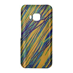 Blue and yellow Van Gogh pattern HTC One M9 Hardshell Case