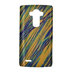 Blue and yellow Van Gogh pattern LG G4 Hardshell Case