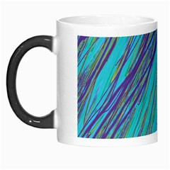 Blue Pattern Morph Mugs
