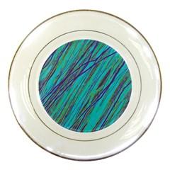 Blue pattern Porcelain Plates