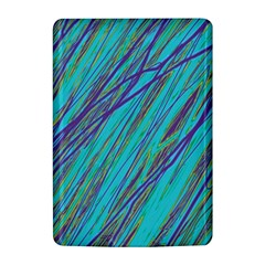 Blue pattern Kindle 4