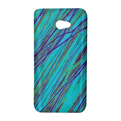 Blue pattern HTC Butterfly S/HTC 9060 Hardshell Case