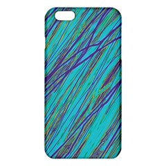 Blue pattern iPhone 6 Plus/6S Plus TPU Case