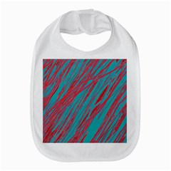 Red And Blue Pattern Bib