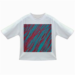 Red and blue pattern Infant/Toddler T-Shirts