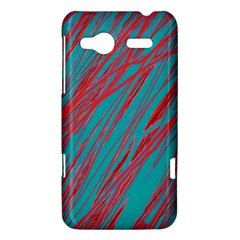 Red and blue pattern HTC Radar Hardshell Case