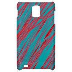 Red and blue pattern Samsung Infuse 4G Hardshell Case
