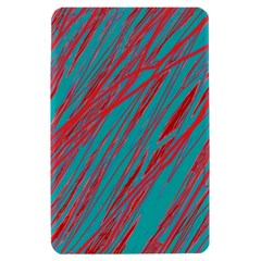Red and blue pattern Kindle Fire (1st Gen) Hardshell Case