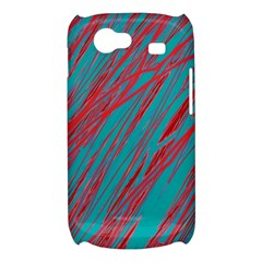 Red and blue pattern Samsung Galaxy Nexus S i9020 Hardshell Case