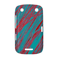 Red and blue pattern BlackBerry Curve 9380