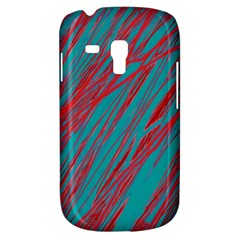 Red and blue pattern Samsung Galaxy S3 MINI I8190 Hardshell Case