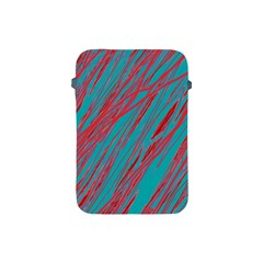 Red and blue pattern Apple iPad Mini Protective Soft Cases