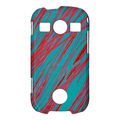 Red and blue pattern Samsung Galaxy S7710 Xcover 2 Hardshell Case