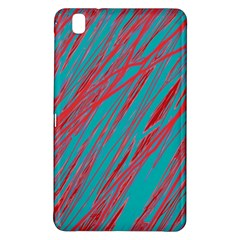 Red and blue pattern Samsung Galaxy Tab Pro 8.4 Hardshell Case
