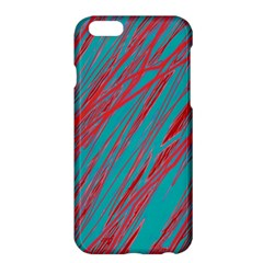 Red and blue pattern Apple iPhone 6 Plus/6S Plus Hardshell Case