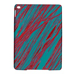 Red and blue pattern iPad Air 2 Hardshell Cases