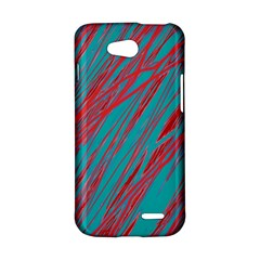 Red and blue pattern LG L90 D410