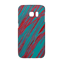 Red and blue pattern Galaxy S6 Edge
