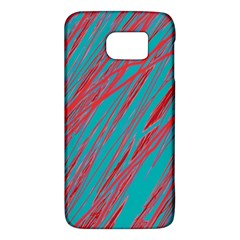 Red and blue pattern Galaxy S6