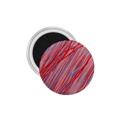 Pink and red decorative pattern 1.75  Magnets