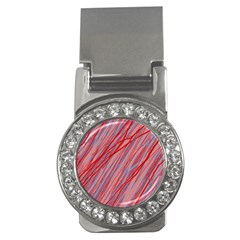 Pink and red decorative pattern Money Clips (CZ)